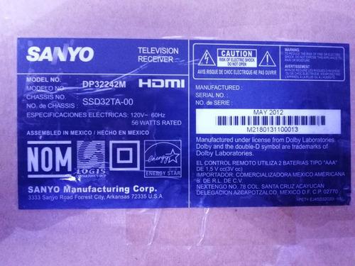 tarjeta pantalla sanyo inverter ssl320_0e1a