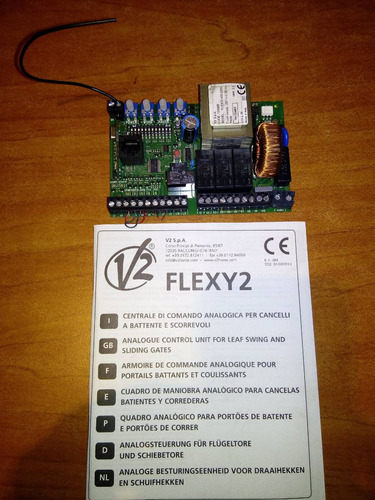 tarjeta para motor modelo flexy 2, marca v2
