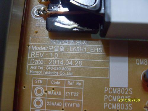 tarjeta para pantalla samsung 65 un65h6153afxzx  l65h1_ehs