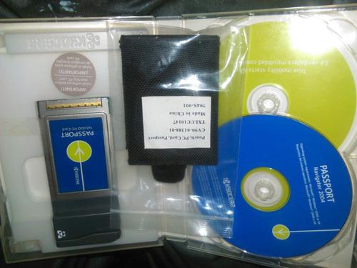 tarjeta passport 1xevdo pc card