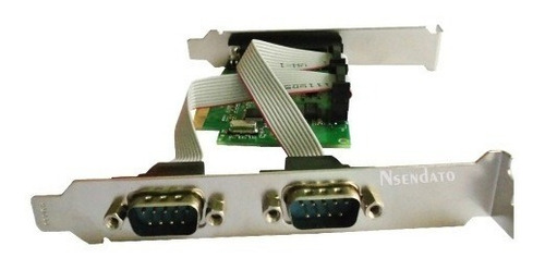tarjeta pci 2 puertos serial db9 rs-232 + 1 paralelo db25