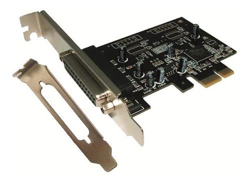 tarjeta pci-e express x1 puerto paralelo ltp db25 + low prof