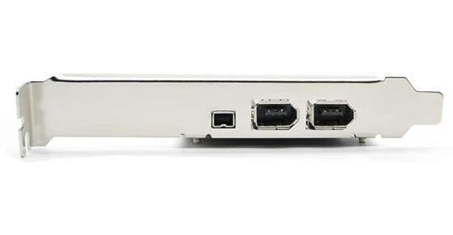 tarjeta pci express 2+1 puerto firewire ieee-1394 puerto 6/4