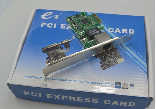 tarjeta pci express lan 10/100/1000m plug and play