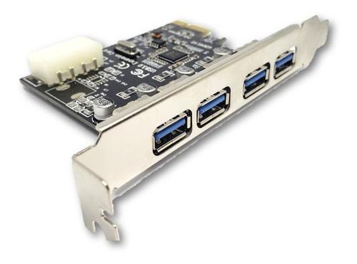 tarjeta pci express usb 3.0 x 4 puertos pci express a usb 3