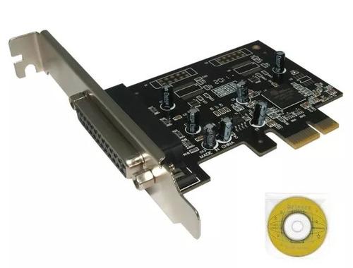 tarjeta pci express x1 puerto paralelo db25 para impresora