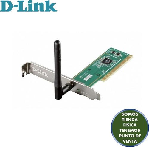 tarjeta pci inalámbrica d-link modelo dwa-525 n150 mbps