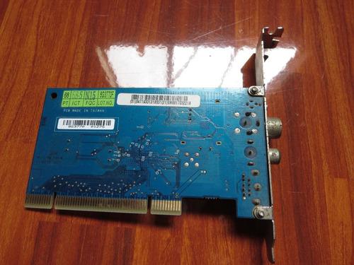 tarjeta pci receptor sintonizador de tv:analógico