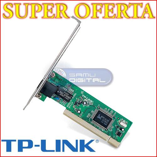 tarjeta pci red lan tf-3239dl desktop pc 10/100 tp-link