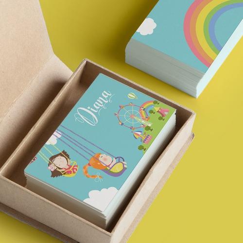 tarjeta personalizada para regalos mod. feria