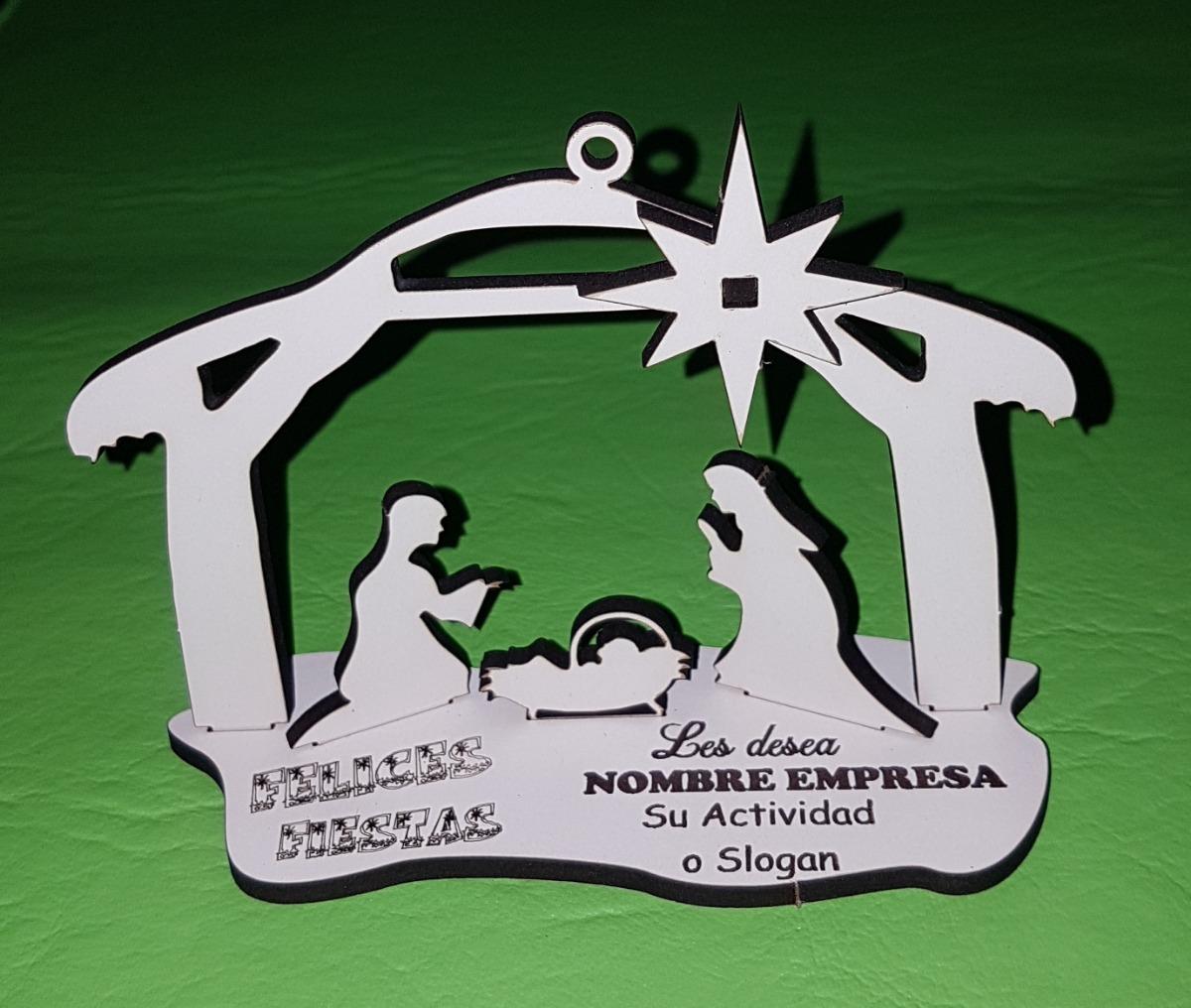 feea704a13b Tarjeta Pesebre 3d Madera Navidad Regalo Publicitario -   89