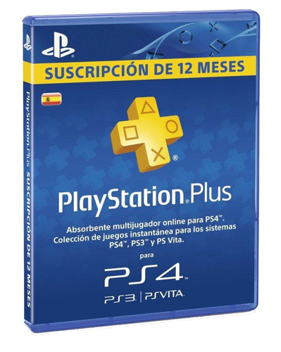 tarjeta playstation plus 1año 365 días psn mejor precio!