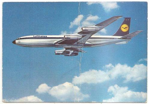 tarjeta postal avión