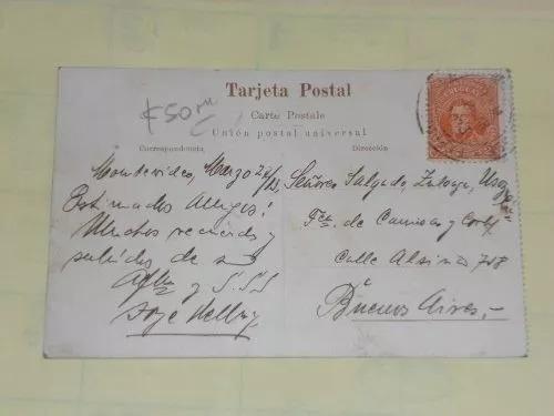 tarjeta postal montevideo uruguay