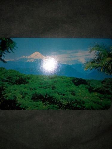 tarjeta postal pico de orizaba