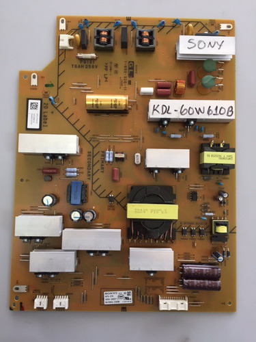 tarjeta power sony modelo kdl-60w610b # 1-893-326-11