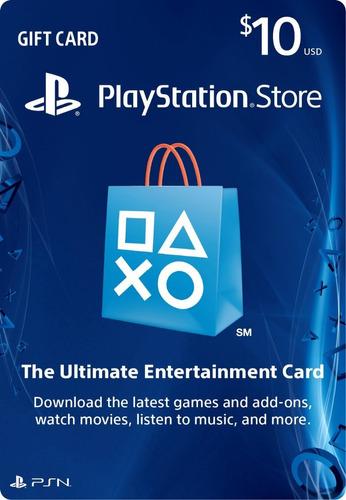 tarjeta prepago $10, playstation gift card