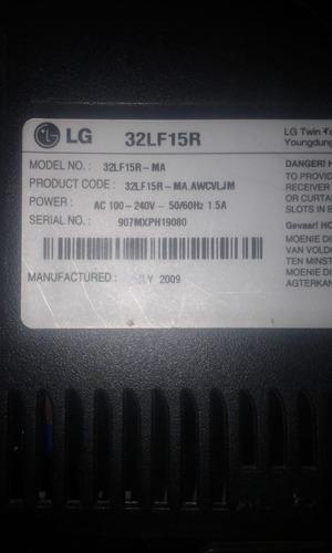 tarjeta principal main lg 32lf15r