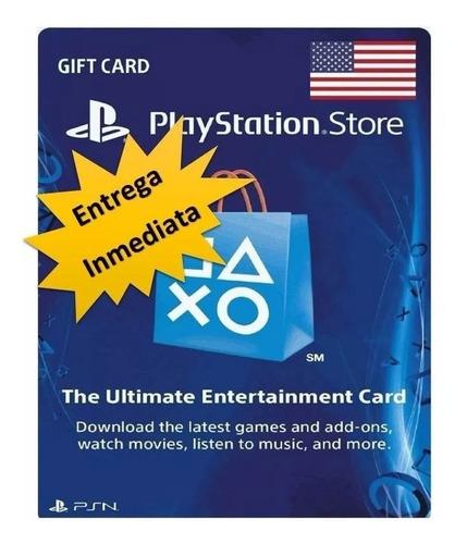 tarjeta psn card 10 dolares ps3 y ps4 | fifa, fortnite y mas