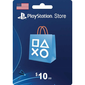 Tarjeta Psn Card 10 Dolares Ps4 Usa Digital - Prepagochile