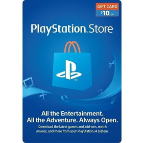 Tarjeta Psn Playstation Network Usa 10usd 100% Original