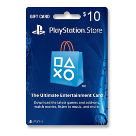 Tarjeta Psn U$10 Usa Ps3 Ps4 | Entrega Inmediata - Gamer24hs