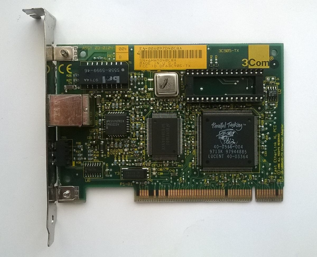 3COM ETHERLINK XL 10/100 PCI NIC (3C905-TX) DRIVERS FOR WINDOWS DOWNLOAD