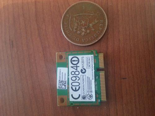 tarjeta red wifi 2.4g broadcom 94313hmg2l mini pci-e hallf