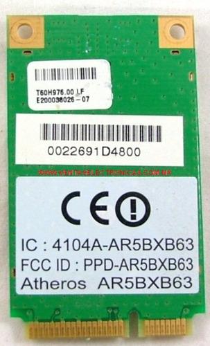 tarjeta red wifi hp compaq v6000 ar5bxb63