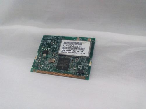 tarjeta red wifi laptop hp nx6115 nx6125