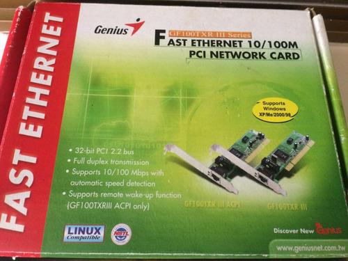 tarjeta red windows xp genius gf100txr (xp- me- 2000-98)
