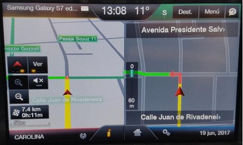 tarjeta sd con mapas para automóviles ford - sudamérica.
