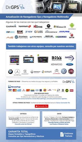 tarjeta sd gps navegación vw discover media arg brasil 2018
