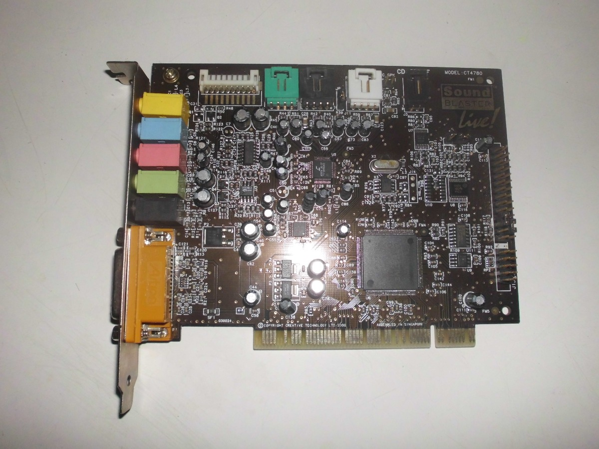 CREATIVE LIVE CT4780 DRIVER FOR MAC