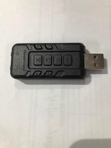 tarjeta sonido externa usb hifi 8.1 adaptador audio 3d sound