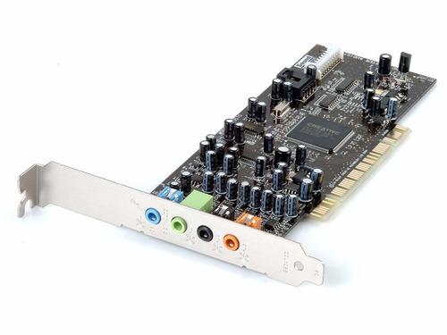 tarjeta sonido pci creative sound blaster 5.1vx