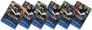 tarjeta steam wallet 10 usddolar global entrega superrapida