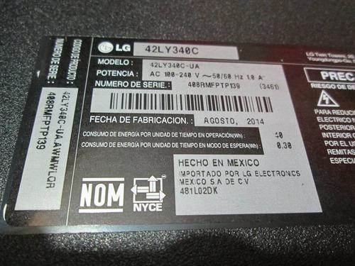 tarjeta t-con lg 42ly340c