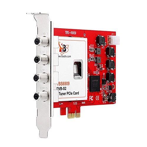 tarjeta tbs 6909 dvb-s / s2 8 sintonizador pci express para