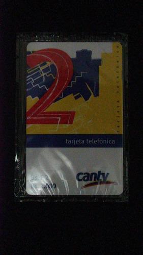 tarjeta telefónica cantv - edif azul y amarillo (vk070901)