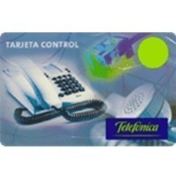tarjeta telefónica control pin 100 - stock 24 hs.