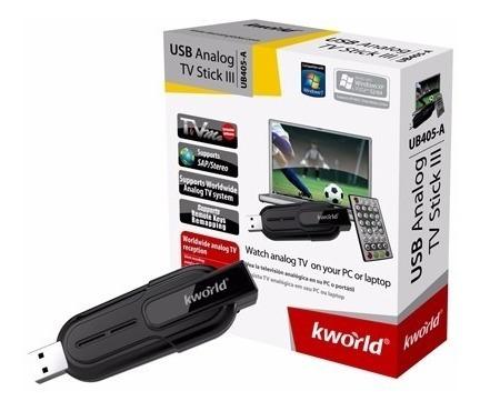 tarjeta tv kworld analoga usb ub-406-a windos 7