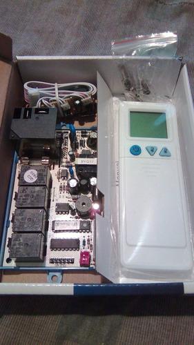 tarjeta universal aire acondicionado 110v-220v con control