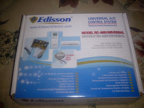 tarjeta universal para aire acondicionado