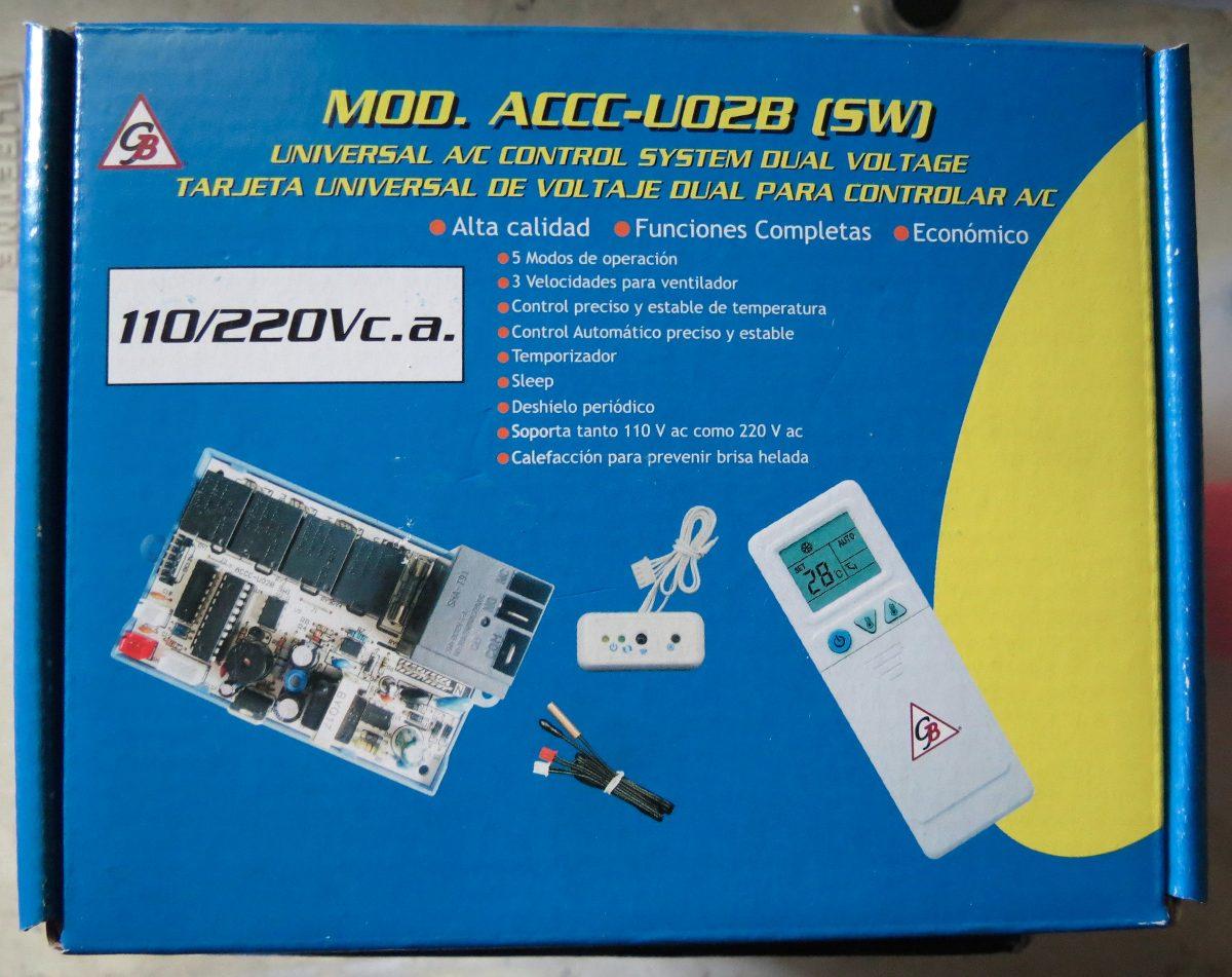 Tarjeta Universal Para Aire Acondicionado Incluye Control