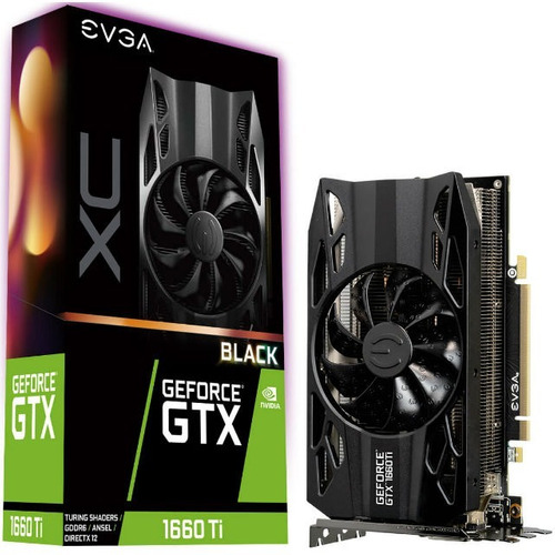 tarjeta video evga geforce gtx 1660 ti 6gb ddr6 tranza