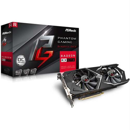 tarjeta video gamer radeon rx 570 8gb ddr5 tranza uruguay
