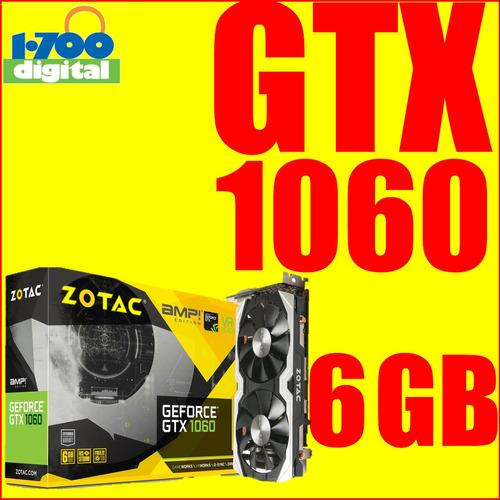 tarjeta video gtx 1060 6 gb nvidia pc gamer 1050 1070 970 3