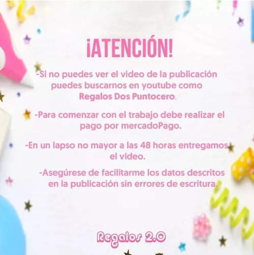 Tarjeta Video Invitacion Cumpleaños Paw Patrol Niñas