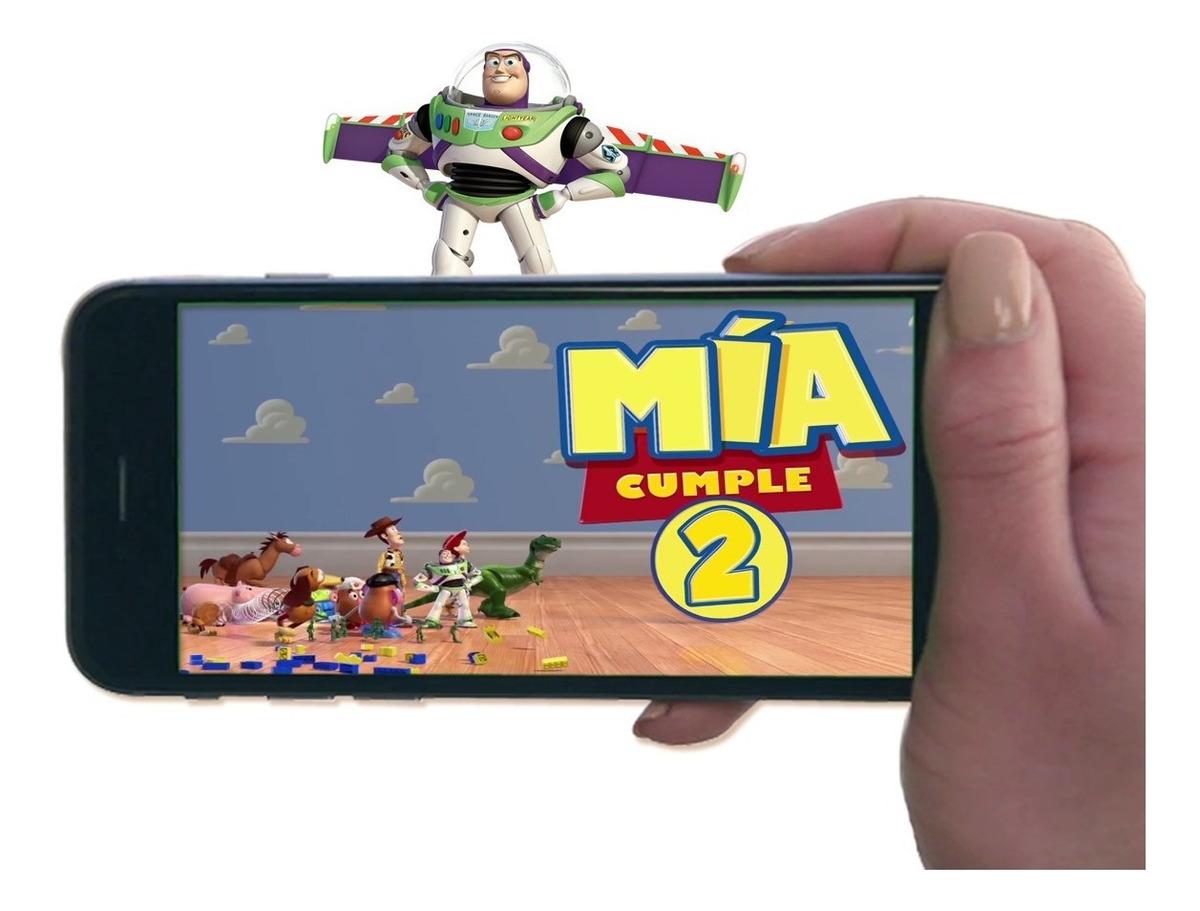 Tarjeta Video Invitacion Cumpleaños Toy Story